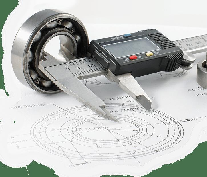 Micrometer Bearing Drawing