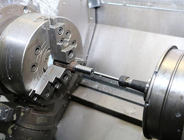 Burraway Entgratwerkzeug von Cogsdill in Drehmaschine