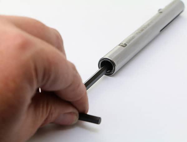 Burraway Deburring Tool von Cogsdill Spannungseinstellung