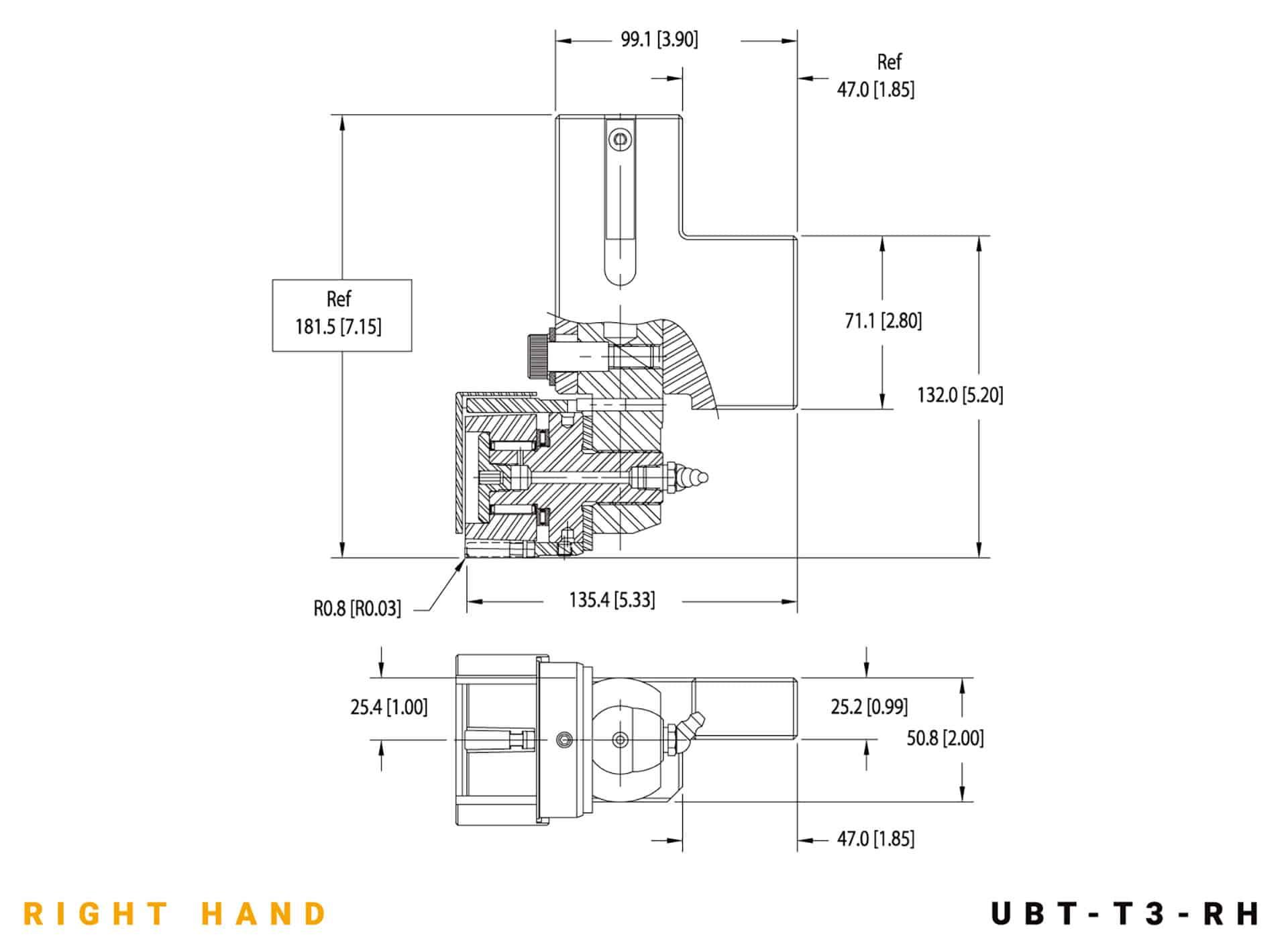UBT-T3 RH specifications