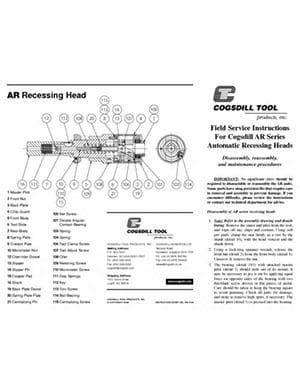 AR-Series Bedienungsanleitung