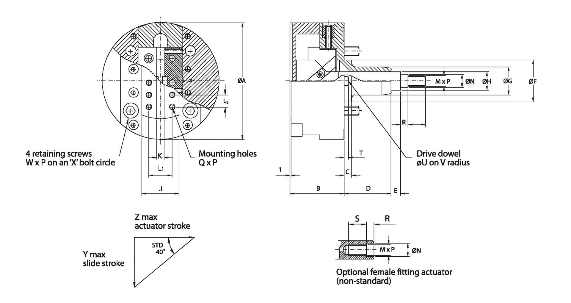 Generating Heads Single Slide Diagram
