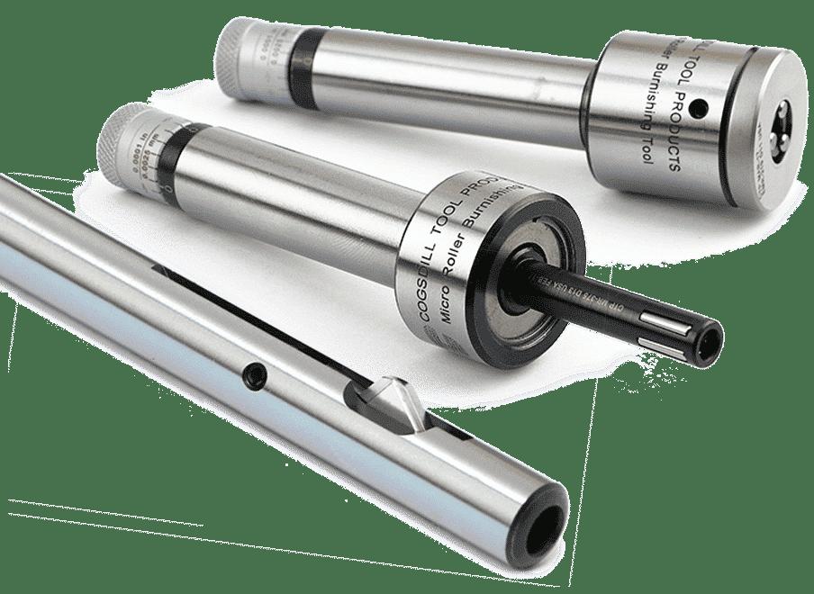 Rollierwerkzeug und Entgratwerkzeuge von Cogsdill Precision Tooling