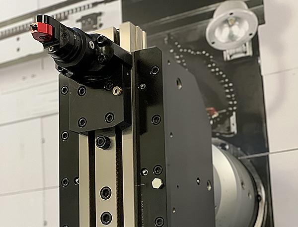 Universal Diamant Rollierwerkzeug (UDBT) capto auf Plandrehkopf